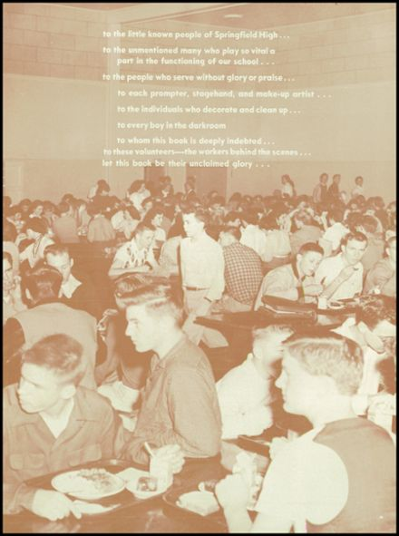 1955 Springfield High School Yearbook Page 7