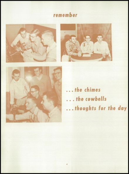 1955 Springfield High School Yearbook Page 8