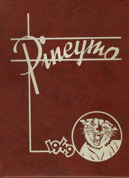 1949 Houston High School Yearbook Cover