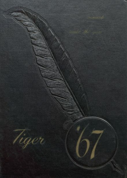 1967 Worth County R-III High School Yearbook Cover