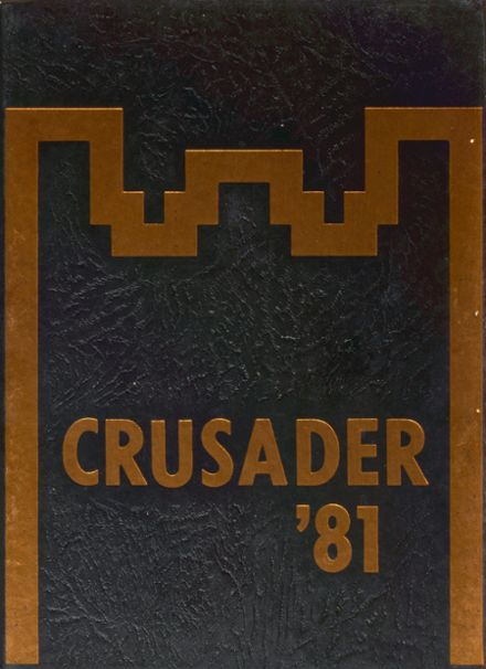 1981 Texas Military Institute Yearbook Cover