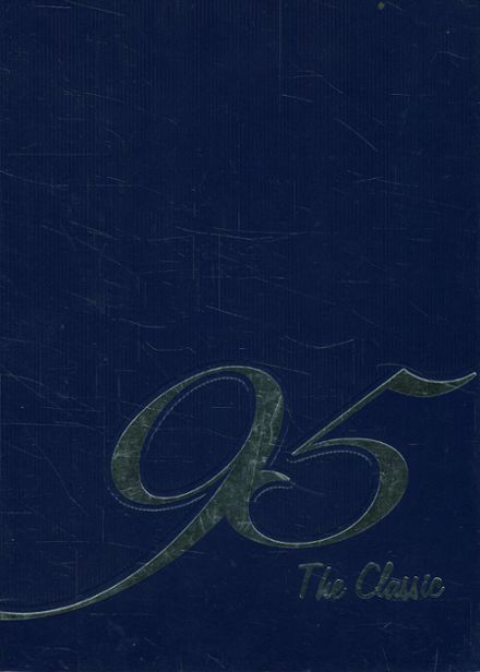 1995 Carman-Ainsworth High School Yearbook Cover
