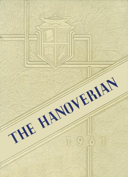 1961 Hanover High School Yearbook Cover
