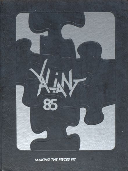 1985 North High School Yearbook Cover