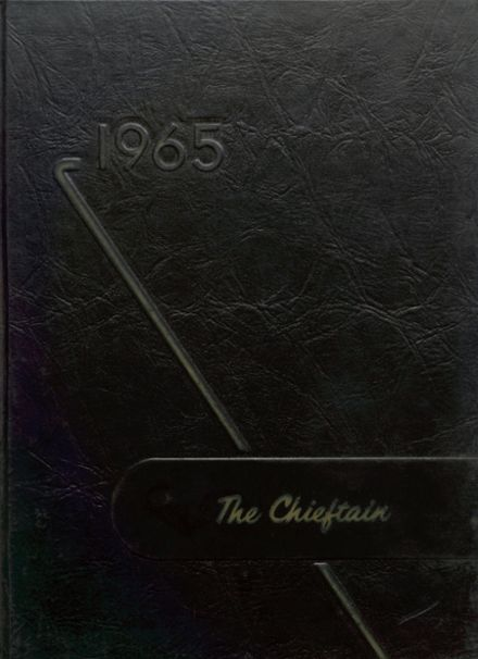 1965 Cohocton Central High School Yearbook Cover