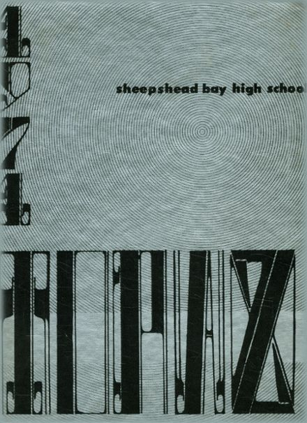 1971 Sheepshead Bay High School Yearbook Cover