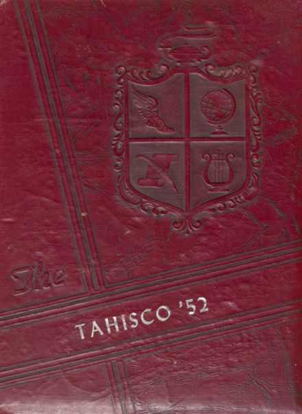 1952 Tate High School Yearbook Cover