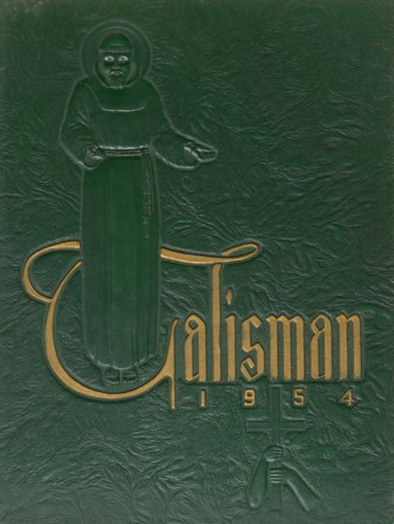 1954 Bishop Timon High School Yearbook Cover