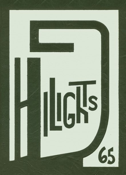 1965 Pittsford Central High School Yearbook Cover