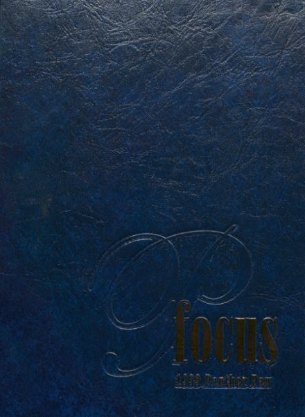 1999 Pflugerville High School Yearbook Cover