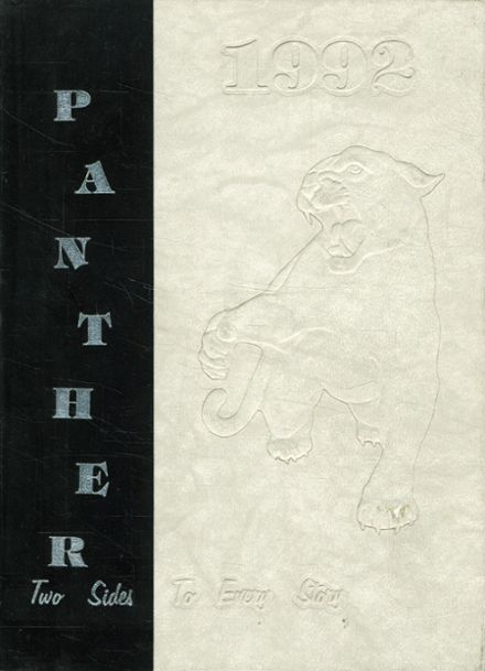 1992 Permian High School Yearbook Cover