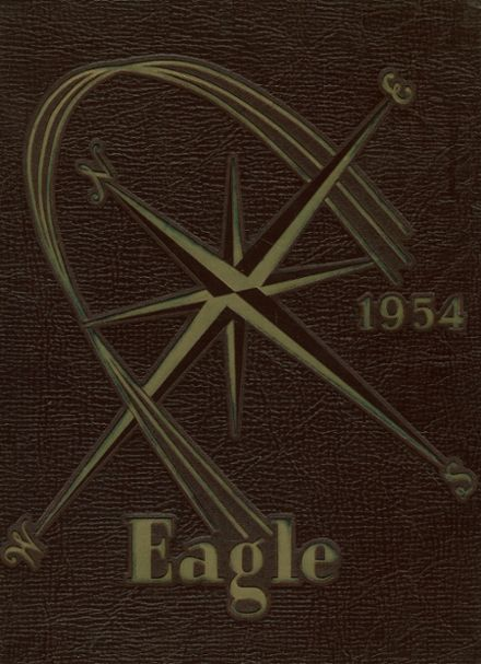 1954 Lindblom Technical High School Yearbook Cover