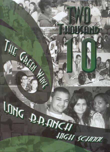 2010 Long Branch High School Yearbook Cover