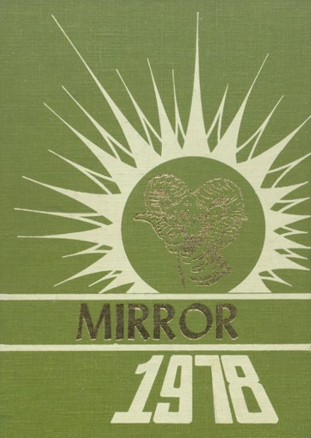 1978 Melvin-Sibley High School Yearbook Cover