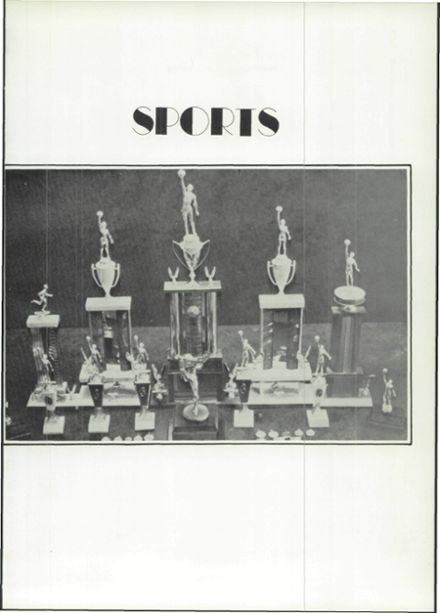 1975 Hermleigh School Yearbook Page 9