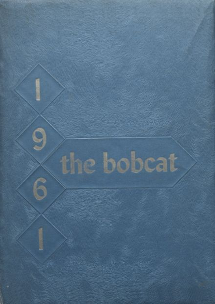 1961 Marshall High School Yearbook Cover