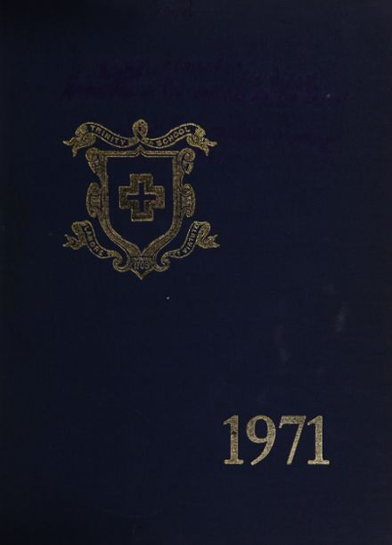 1971 Trinity School Yearbook Cover