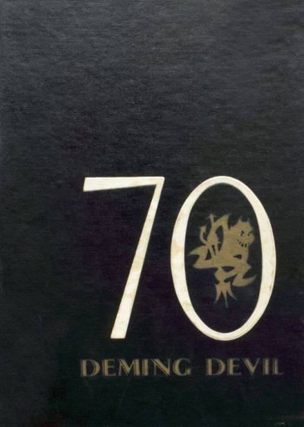 1970 Deming High School Yearbook Cover