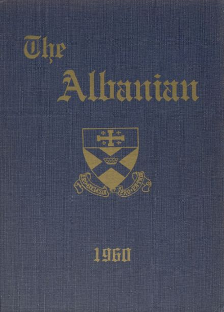 1960 St. Albans High School Yearbook Cover
