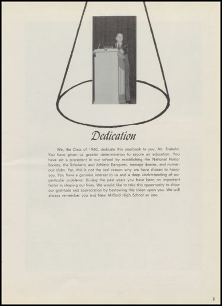 1960 New Milford High School Yearbook Page 7