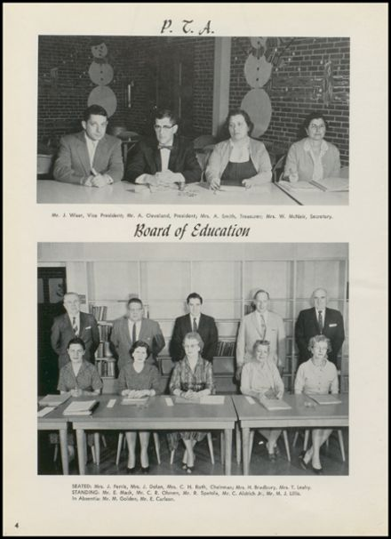1960 New Milford High School Yearbook Page 8