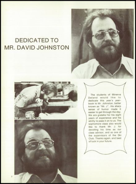 1981 Minerva-Deland High School Yearbook Page 6