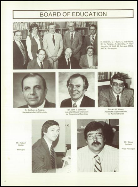 1981 Minerva-Deland High School Yearbook Page 8