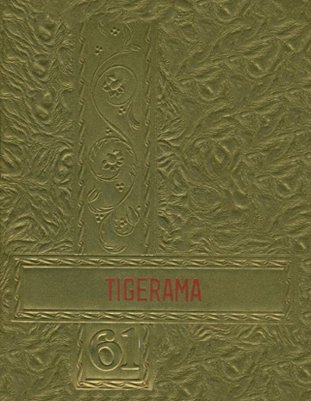 1961 Fishers High School Yearbook Cover