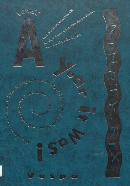 1996 New Athens High School Yearbook Cover