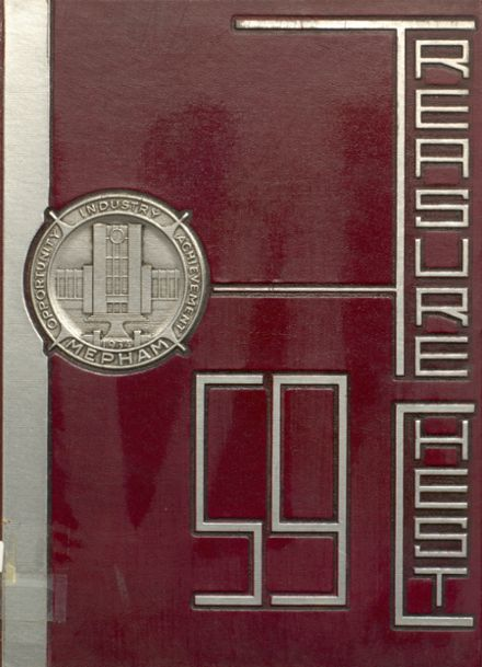 1959 Mepham High School Yearbook Cover