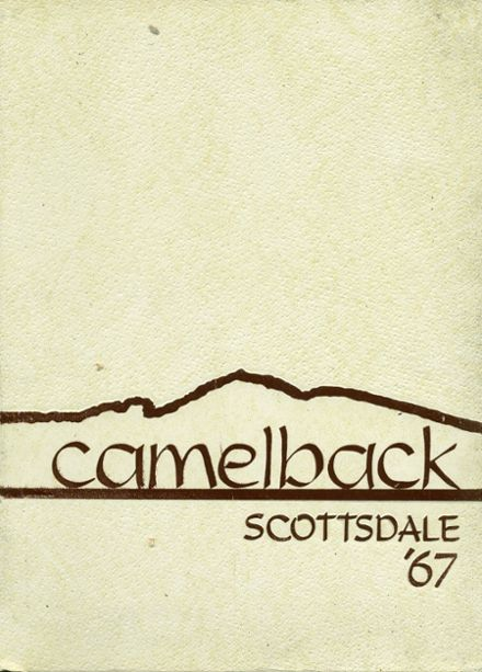 1967 Scottsdale High School Yearbook Cover