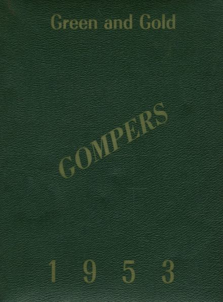1953 Samuel Gompers Vocational High School Yearbook Cover