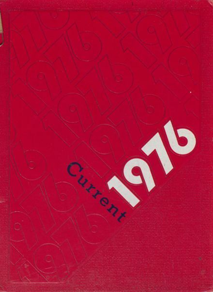 1976 Clintondale High School Yearbook Cover