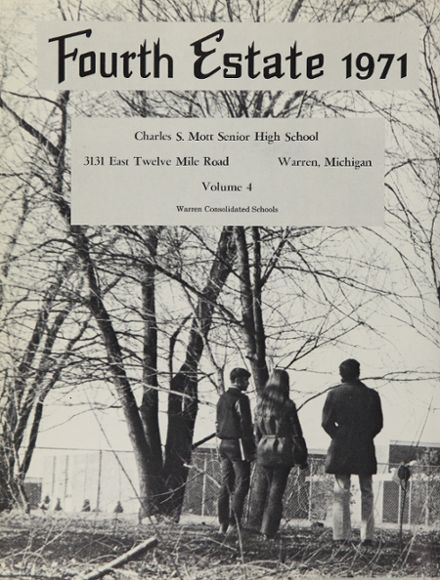 1971 Warren-Mott High School Yearbook Page 6