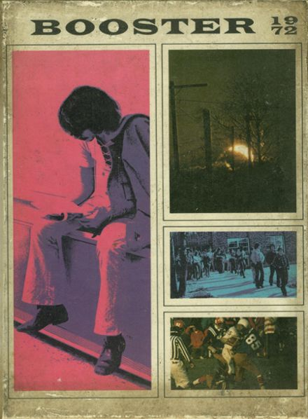 1972 Union High School Yearbook Cover