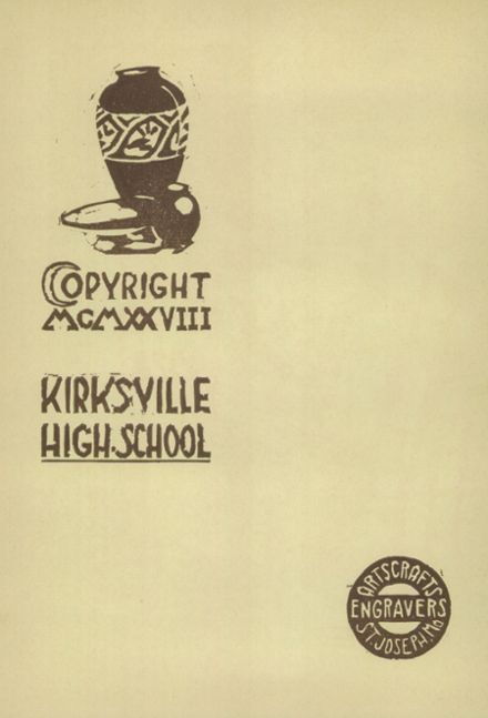 1928 Kirksville High School Yearbook Page 6