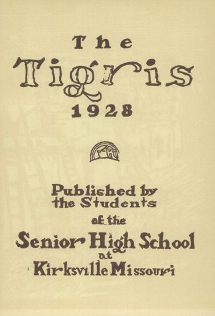 1928 Kirksville High School Yearbook Page 9