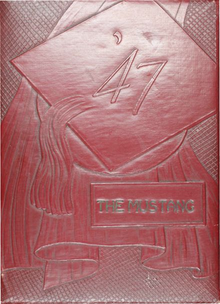 1947 Denver City High School Yearbook Cover