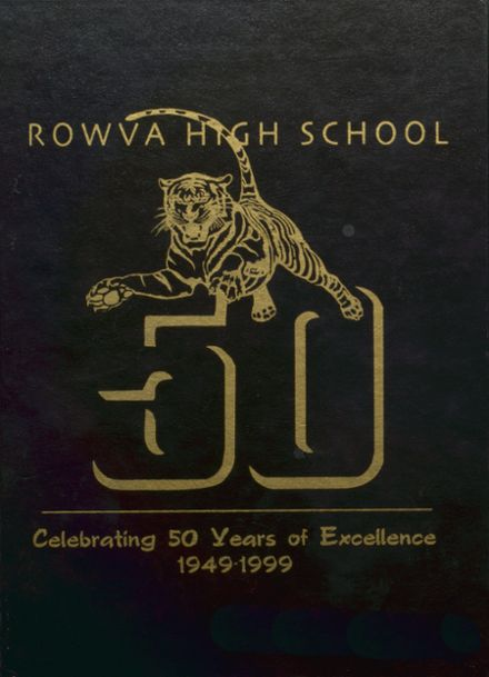 1999 ROWVA High School Yearbook Cover