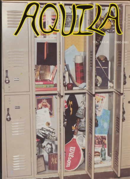 1981 Greenwood High School Yearbook Cover