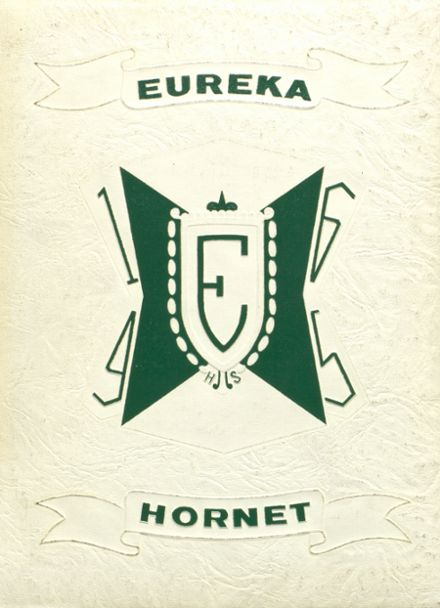 1965 Eureka High School Yearbook Cover
