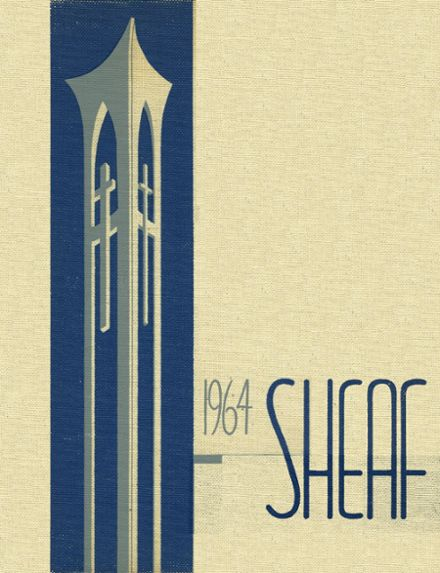 1964 Mt. St. Joseph Academy Yearbook Cover