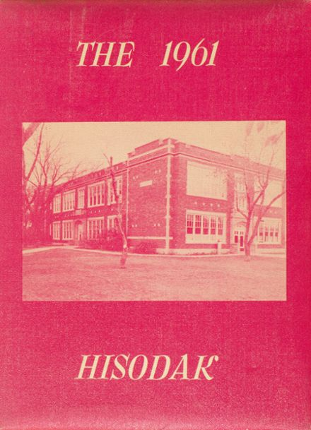 1961 Highmore High School Yearbook Cover