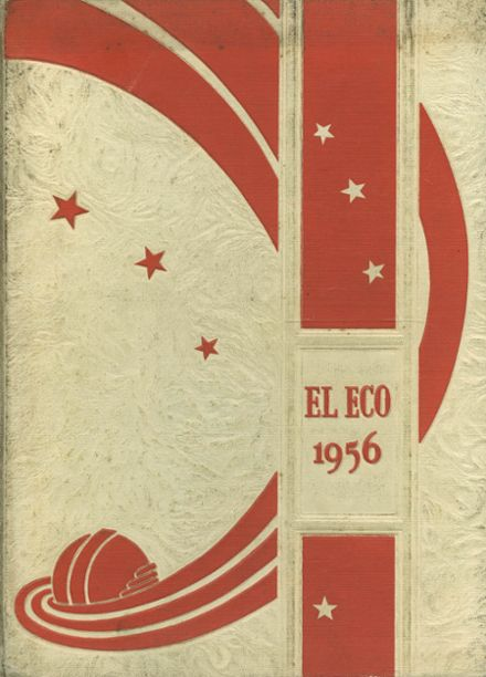 1956 Nathaniel Narbonne High School Yearbook Cover
