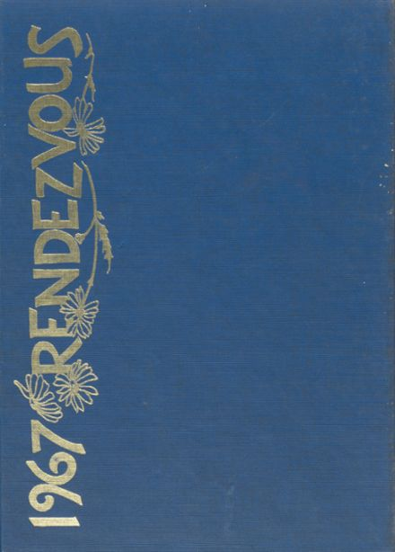 1967 Academy of the Sacred Heart Yearbook Cover