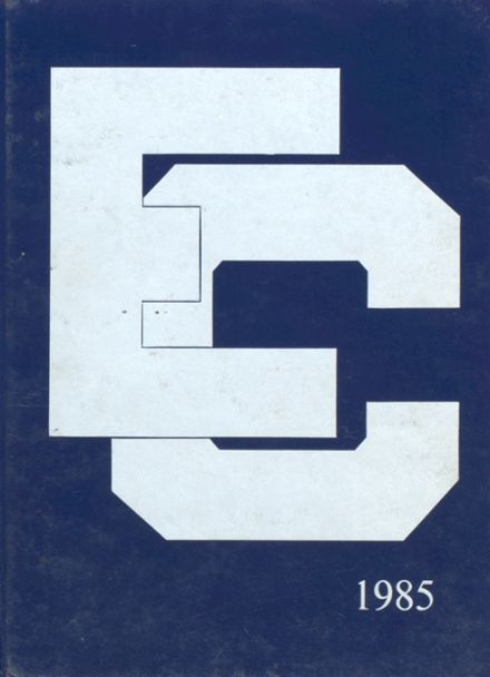 1985 Ecole Classique High School Yearbook Cover