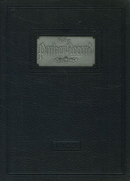1925 Francis W. Parker School Yearbook Cover