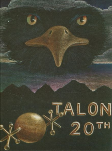 1985 Capital High School Yearbook Cover