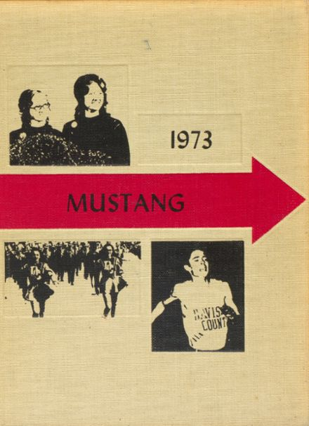 1973 Davis County Community High School Yearbook Cover