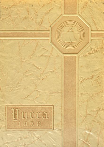 1938 Antelope Valley High School Yearbook Cover